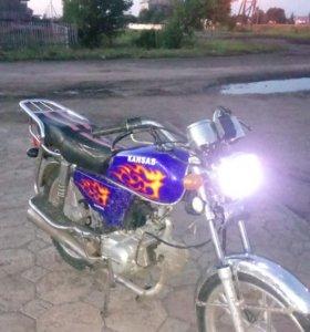 Продам мотоцикл Альфа 50 кубов.
