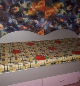 Кровать 1,5спальная