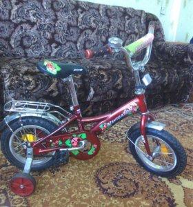 Продам велосипед, колеса 12d в отличном состоянии