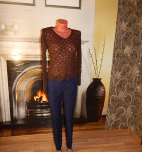 Кружевной свитерок
