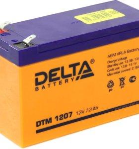 Продам аккумулятор AGM 12v 7,2ah