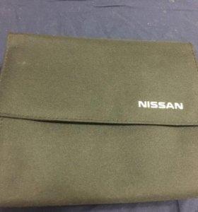 Чехол для сервисной книжки Nissan