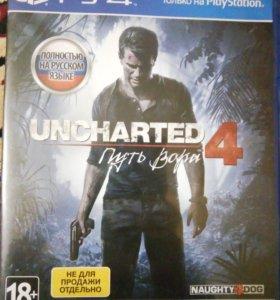 Uncharted 4 PS4 игра