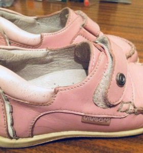 Туфли для девочки,натуральная кожа