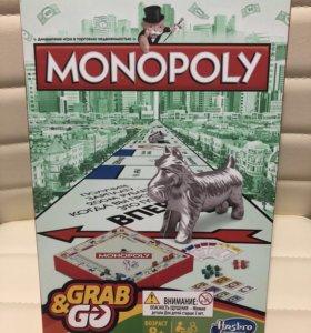 Настольная игра монополия дорожная новая
