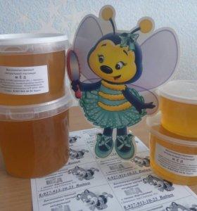 Мед липовый натуральный