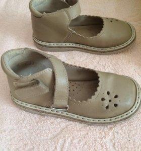 Туфли кожа для девочки НЕМАН 150 размер