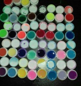 Гель краска набор