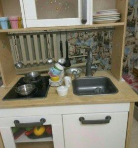 Детская кухня икея с принадлежностями