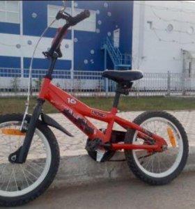 """Велосипед детский на 16"""" (5-7 лет)"""