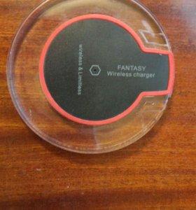 Беспроводная зарядка Fantasy с LED светодиодами