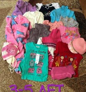 Вещи на девочку 3-5 лет