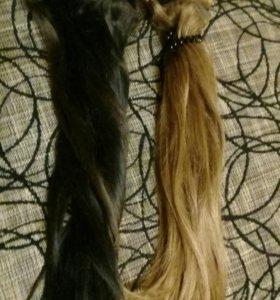 натуральные волосы мегаобьем