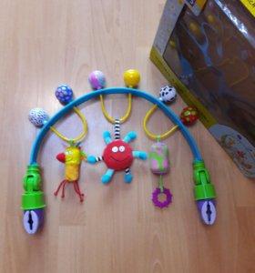Развивающая дуга с игрушками