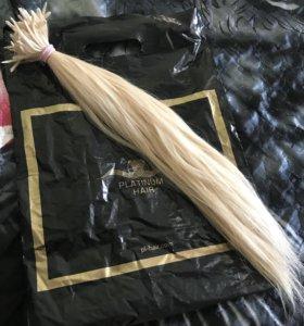 Натуральные волосы для наращивания (Славянка)