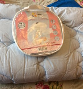 Детское тёплое одеяло и новая орто подушка