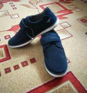 Туфли для мальчика. Размер 39.Новые
