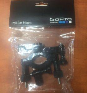 GoPro крепление Hero Roll Bar d3.5-6.35см (GRBM30)