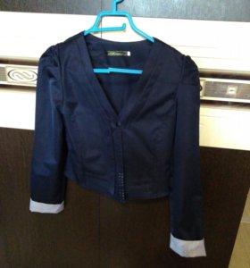Пиджак школьный, на девочку
