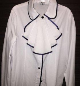 Школьная блузка на 7-8 лет