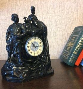 Часы каминные «Хозяйка медной горы»