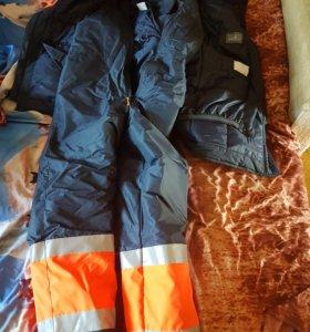 Комплект куртка плюс комбинезон зимнее