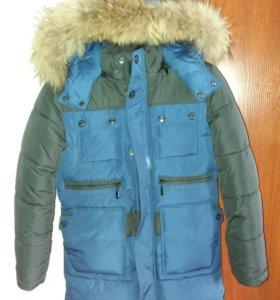 Куртка удлиненая на мальчика