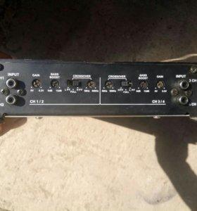 Усилитель 4х канальный Kicx-ar 4.90
