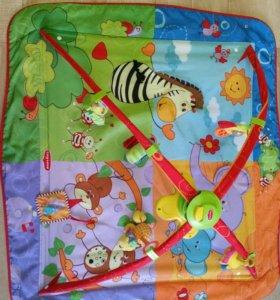 Развивающий коврик Tiny Love Разноцветное сафари