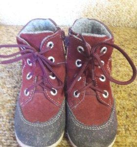Демисезонные ботинки.