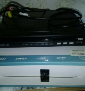 DVD видеоплеер Dexp новый