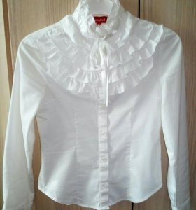 Блузка школьная +1