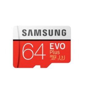 Карта памяти mircroSDXC Samsung Evo Plus 64 GB