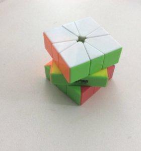 Кубик Рубика скавер-1(square-1)цветной пластик