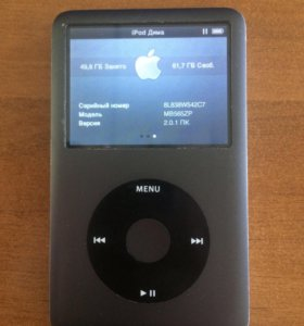 Плеер apple iPod classic 120gb