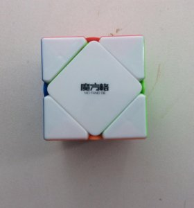 Кубик Рубика Скьюб(Skewb)Цветной пластик