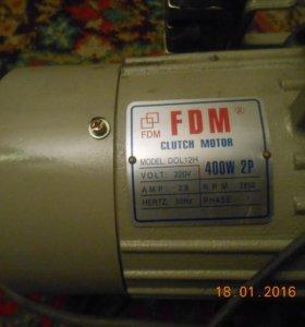 Fdm clutch motor 400w 2p