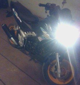 Мотоцикл индиго шторм 125
