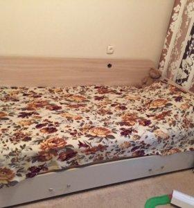 Кровать раздвижная на 2 спальных места