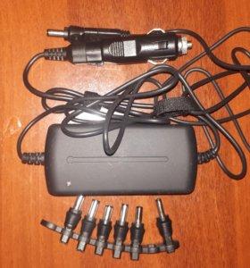Автомобильная зарядка для ноутбуков