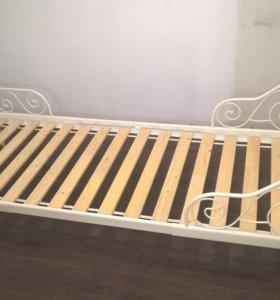 Кровать раздвижная на вырост