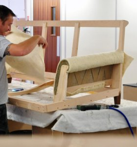 Сотрудник на производство мягкой мебели