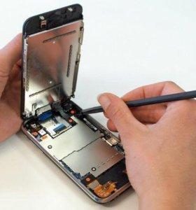 Замена ремонт дисплея экрана на айфон iPhone