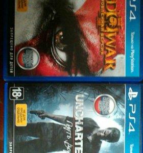 Uncharted 4 и God of War 3