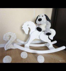 Лошадка качалка для кенди бара