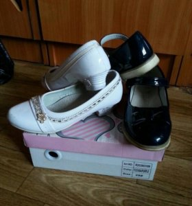 Туфли девочка 2 пары