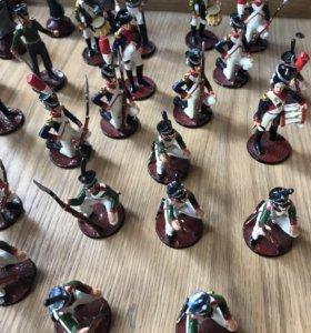 Шахматы в виде фигурок