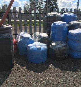 Баки для воды 200,500,750 литров