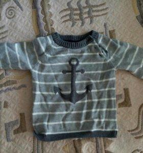 свитер теплый детский hm