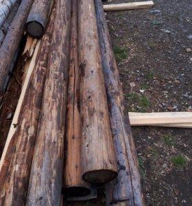 Столбики на забор